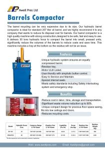 Barrels Compressor