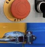 baler safety, interlocking system