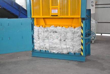 hydraulic baler press machine for waste paper and cardboard