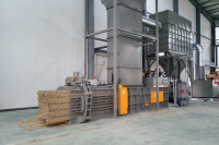 dust collection, Briquetting machine,Air-Material Separater