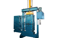 Double Chamber Textile Baler